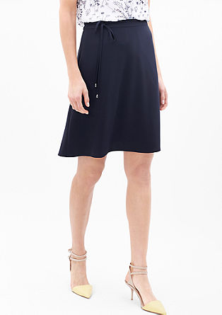 Skirt in a silky-matte look from s.Oliver
