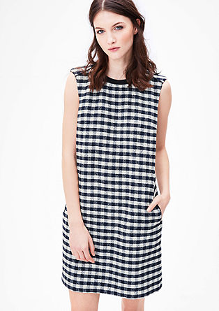 Sleeveless checked dress from s.Oliver