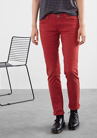 Slim: Barvne jeans hlače s strečem