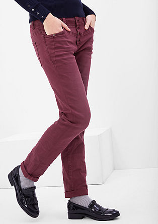 Slim: coloured stretch jeans from s.Oliver