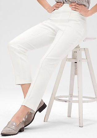 Slim: elegant stretch trousers from s.Oliver