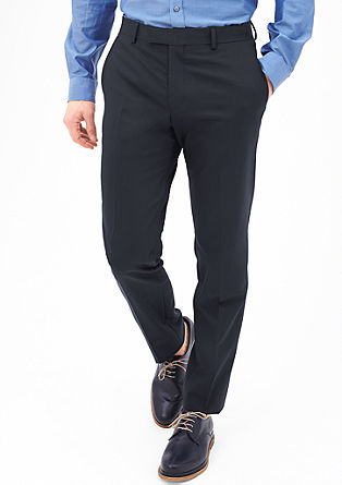Slim: elegant suit trousers from s.Oliver