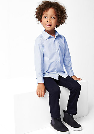 Slim: Elegantes Baumwollhemd