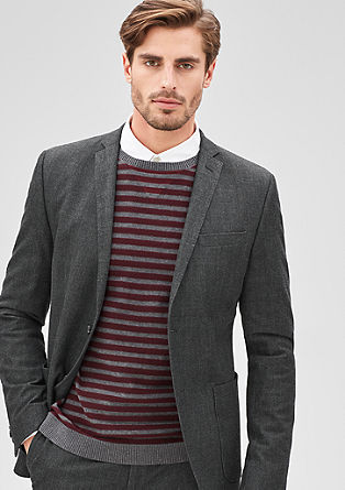Slim: fashionable business jacket from s.Oliver