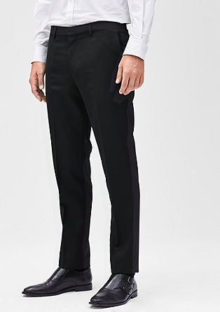 Slim: Feestelijke business pantalon