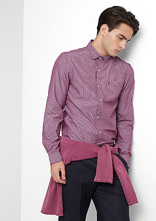 Slim: Fineliner-Hemd