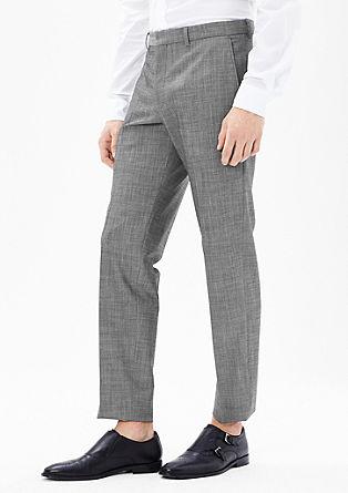 Slim: Flex-Hose aus Schurwolle