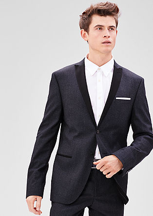 Slim: Formal twill jacket from s.Oliver