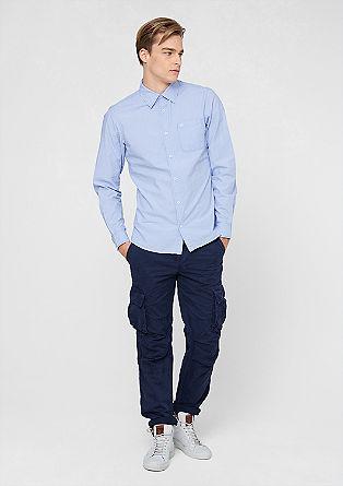 Slim: Gestreiftes Hemd