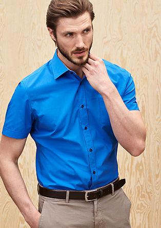 Slim: Hemd mit kurzen Ärmeln