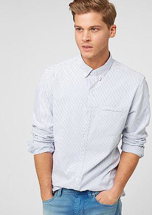 Slim: Hemd mit Streifen