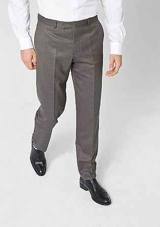 Slim: Hose mit feinen Streifen