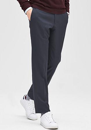 Slim: Hose mit tonigen Streifen
