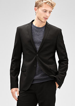 Slim: Jacket in pure new wool from s.Oliver