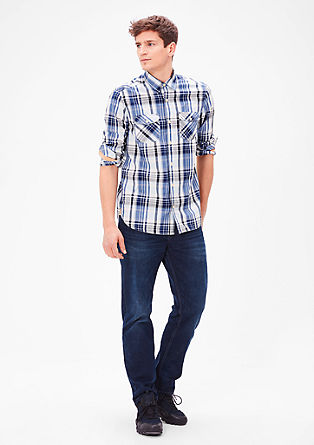 Slim: Karirasta srajca iz bombaža