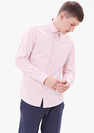Slim: klasična bombažna srajca