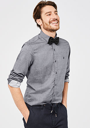 Slim: Klassisches Baumwollhemd