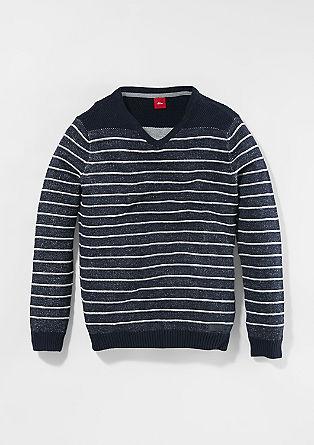 Slim: Lahek pleten pulover