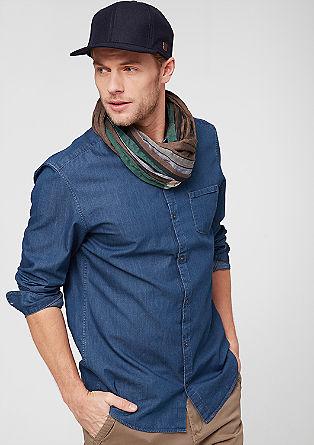Slim: Leichtes Jeanshemd