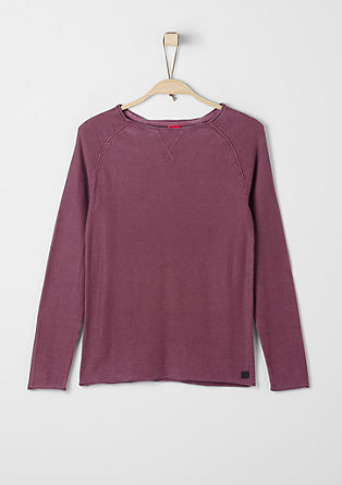Slim: lightweight knit jumper from s.Oliver