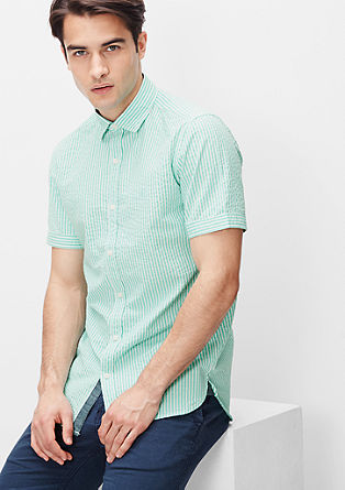 Slim: nautical striped shirt from s.Oliver