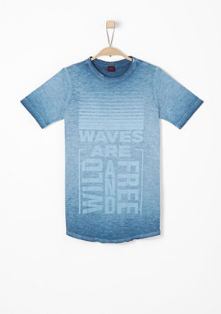 Slim: Pigment Dye-Shirt