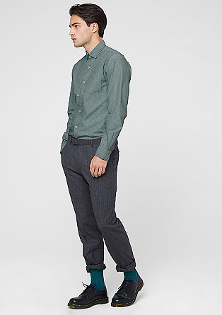 Slim: pinstripe shirt from s.Oliver