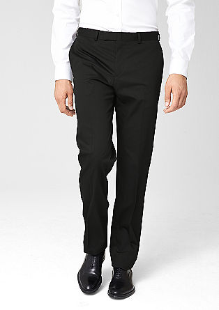 Slim: pinstripe trousers from s.Oliver