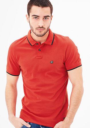 Slim: Piqué-Poloshirt