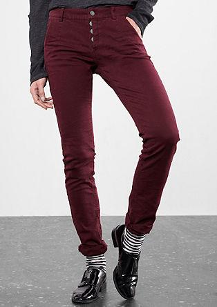 Slim: Raztegljive hlače s teksturo