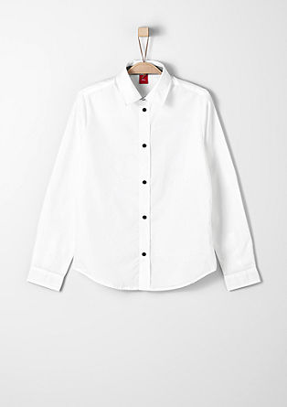 Slim: shirt with contrast details  from s.Oliver