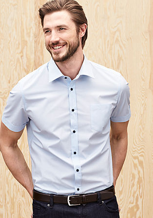 Slim: short sleeve shirt from s.Oliver