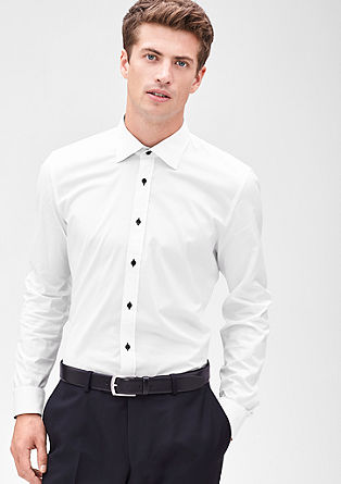 Slim: slim fit business shirt from s.Oliver