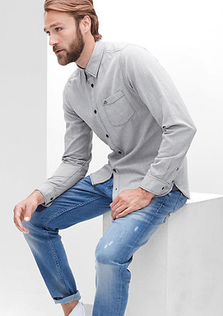 Slim: Slim fit Oxford shirt from s.Oliver