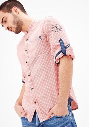 Slim: srajca iz chambraya