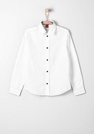 Slim: srajca s kontrastnimi detajli