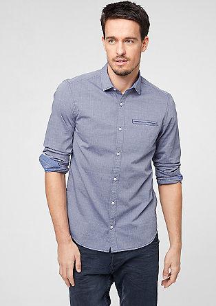 Slim: srajca s tkano strukturo