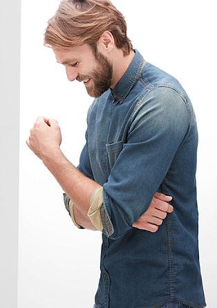 Slim: srajca v videzu džinsa