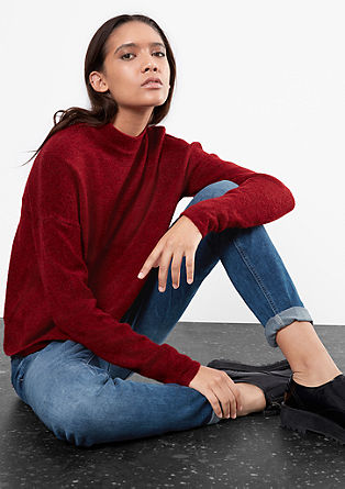 Slim: stonewashed jeans hlače