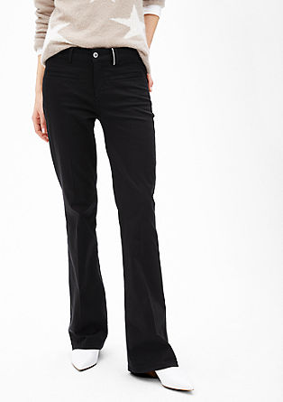 Slim: stretch bootcut trousers  from s.Oliver
