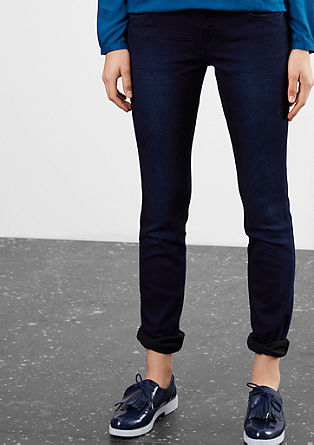 Slim: Stretchige Colored Denim