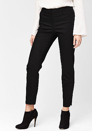 Slim: stretchy ankle-length trousers from s.Oliver