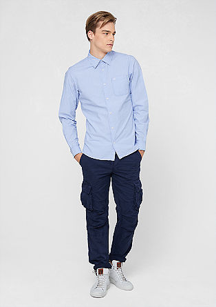 Slim: striped shirt from s.Oliver