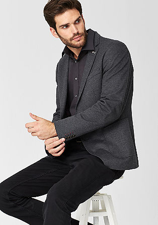 Slim: Stylish single-breasted jacket from s.Oliver