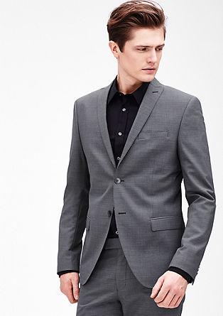 Slim: suknjič s tkanim vzorcem