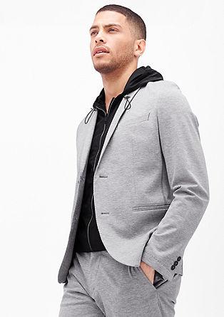 Slim: suknjič z brezrokavnikom s kapuco