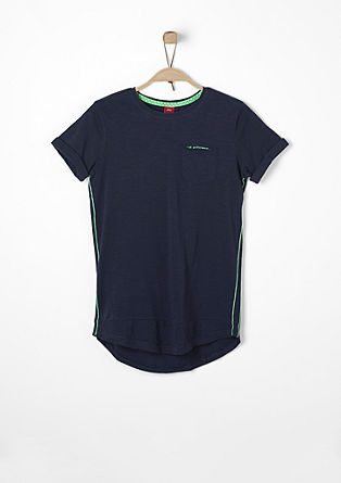 Slim: T-shirt in a long shape from s.Oliver