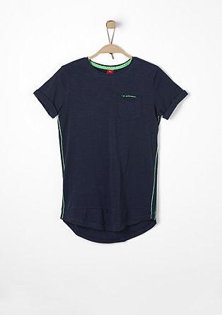 Slim: T-Shirt in Long-Shape