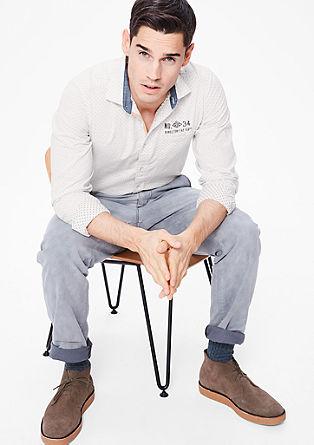 Slim: Vzorčasta srajca