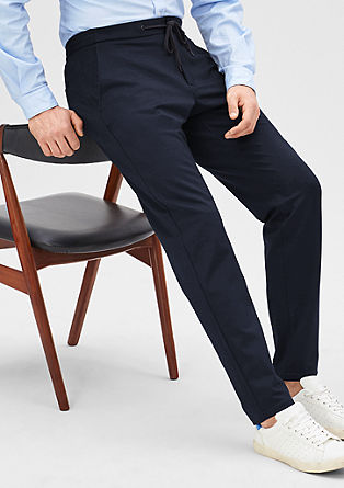 Slim fit: sportieve pantalon